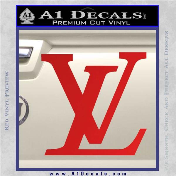 Louis Vuitton Logo D3 Decal Sticker 187 A1 Decals