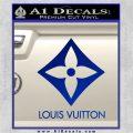 Louis Vuitton SQ Decal Sticker Blue Vinyl 120x120