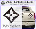 Louis Vuitton SQ Decal Sticker Carbon Fiber Black 120x97