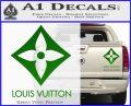 Louis Vuitton SQ Decal Sticker Green Vinyl 120x97