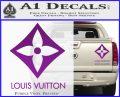 Louis Vuitton SQ Decal Sticker Purple Vinyl 120x97