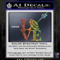 Love Archery SQ Decal Sticker Sparkle Glitter Vinyl 120x120