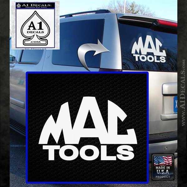Mac Tools Vinyl Decal Sticker Arc 187 A1 Decals