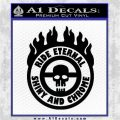 Mad Max Fury Road Ride Eternal Shiny Chrome Decal Sticker Black Logo Emblem 120x120