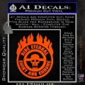 Mad Max Fury Road Ride Eternal Shiny Chrome Decal Sticker Orange Vinyl Emblem 120x120