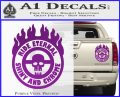 Mad Max Fury Road Ride Eternal Shiny Chrome Decal Sticker Purple Vinyl 120x97