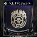 Mad Max Fury Road Ride Eternal Shiny Chrome Decal Sticker Silver Vinyl 120x120