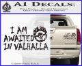 Mad Max Fury Road Valhalla Decal Sticker Carbon Fiber Black 120x97