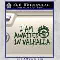 Mad Max Fury Road Valhalla Decal Sticker Dark Green Vinyl 120x120