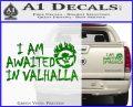 Mad Max Fury Road Valhalla Decal Sticker Green Vinyl 120x97