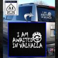 Mad Max Fury Road Valhalla Decal Sticker White Emblem 120x120