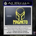 Magneto Helmet D1 Decal Sticker Yelllow Vinyl 120x120