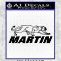 Martin Archery Logo Decal Sticker Black Logo Emblem 120x120