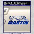 Martin Archery Logo Decal Sticker Blue Vinyl 120x120