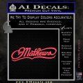 Mathews Archery Decal Sticker DN Pink Vinyl Emblem 120x120
