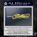 Mathews Archery Decal Sticker DN Yelllow Vinyl 120x120