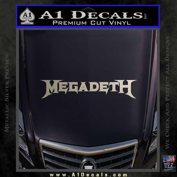 LYNYRD SKYNYRD MC Club on Silver Metal Sticker//Decal rock music band car bumper