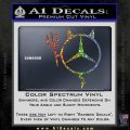 Mercedes Devil Decal Sticker Sparkle Glitter Vinyl 120x120