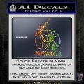 Merica Libery Rifle Decal Sticker Sparkle Glitter Vinyl 120x120