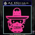 Mexican Hello Kitty Mexico Decal Sticker Hot Pink Vinyl 120x120