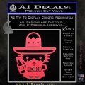 Mexican Hello Kitty Mexico Decal Sticker Pink Vinyl Emblem 120x120