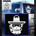 Mexican Hello Kitty Mexico Decal Sticker White Emblem 120x120