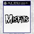 Misfits Rock Band Vinyl Decal Sticker DH Black Logo Emblem 120x120