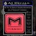 Mission Archery Decal Sticker RT Pink Vinyl Emblem 120x120