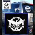Mockingjay District 13 emblem Hunger Games DLB Decal Sticker White Emblem 120x120