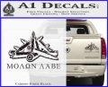 Molon Labe Ammo Pile Decal Sticker Carbon Fiber Black 120x97