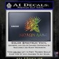 Molon Labe Bullets Spartan Decal Sticker Sparkle Glitter Vinyl 120x120