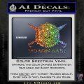 Molon Labe CS Decal Stickers Sparkle Glitter Vinyl 120x120