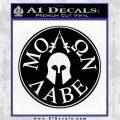 Molon Labe Come And Take Them s Decal Sticker Black Logo Emblem 120x120