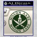 Molon Labe Come Take It CR2 Decal Sticker Dark Green Vinyl 120x120