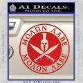 Molon Labe Come Take It CR2 Decal Sticker Red Vinyl 120x120