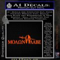 Molon Labe DWS Decal Sticker Orange Vinyl Emblem 120x120