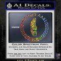 Molon Labe Decal Sticker CR23 Sparkle Glitter Vinyl 120x120