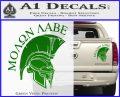 Molon Labe HEL Decal Sticker D7 Green Vinyl 120x97