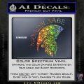 Molon Labe HEL Decal Sticker D7 Sparkle Glitter Vinyl 120x120