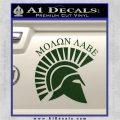 Molon Labe Helmet New s Decal Sticker Dark Green Vinyl 120x120