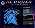 Molon Labe Helmet New s Decal Sticker Light Blue Vinyl 120x97