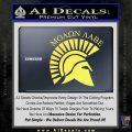Molon Labe Helmet New s Decal Sticker Yelllow Vinyl 120x120
