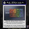 Mopar American Flag Decal Sticker Sparkle Glitter Vinyl 120x120