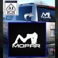 Mopar Sexpy Girl Decal Sticker SK White Emblem 120x120