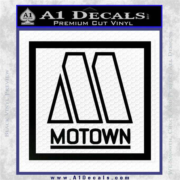 Motown Records Logo Decal Sticker 187 A1 Decals