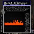 Mystery Science Theater Cast Vinyl Decal Sticker Orange Vinyl Emblem 120x120