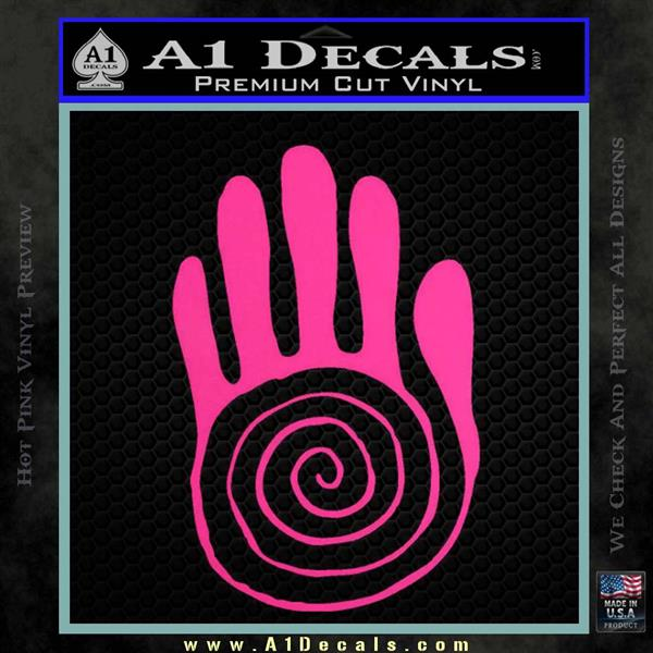 Native American Sacred Hand Decal Sticker A1 Decals