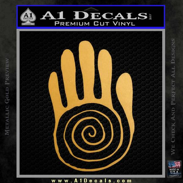 Native American Sacred Hand Decal Sticker 187 A1 Decals