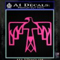 NATIVE AMERICAN THUNDERBIRD VINYL DECAL STICKER Hot Pink Vinyl 120x120