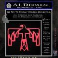 NATIVE AMERICAN THUNDERBIRD VINYL DECAL STICKER Pink Vinyl Emblem 120x120